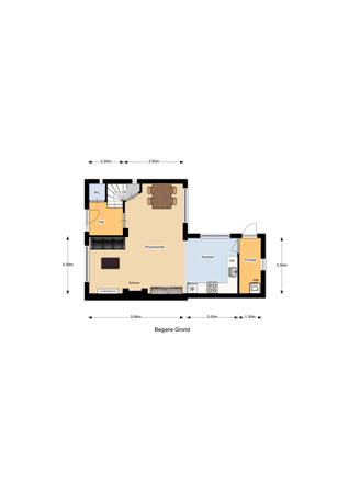 Floorplan - Papenlantstraat 13, 5051 BJ Goirle