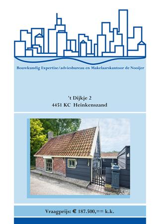 Brochure preview - brochure t dijkje 2 te heinkenszand