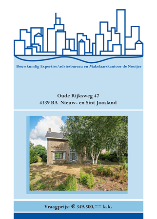 Brochure preview - brochure oude rijksweg 47, nieuw- en sint joosland