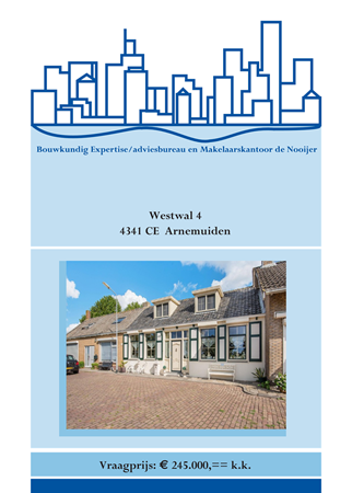 Brochure preview - brochure westwal 4, arnemuiden