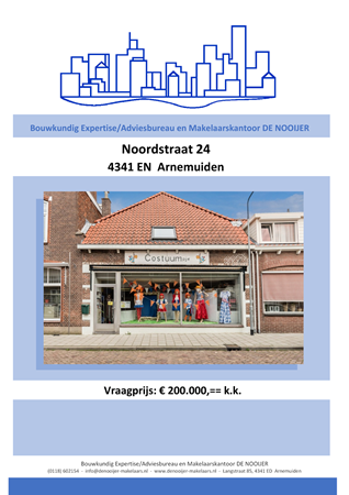 Brochure preview - informatie brochure noordstraat 24, arnemuiden