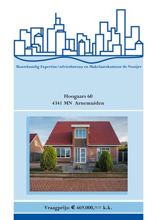 Brochure preview - brochure hoogaars 60, arnemuiden