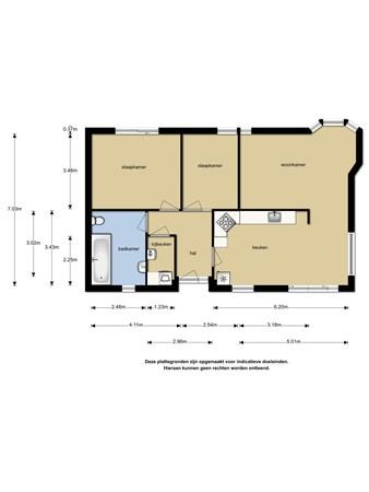Floorplan - Potdijk 8S004, 7475 SL Markelo