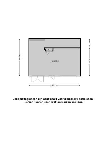 Plattegrond - Velveweg 25, 7533 XD Enschede
