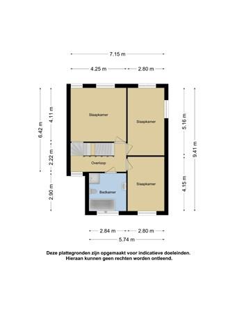 Plattegrond - Cornelia Schefferlaan 30, 7545 RZ Enschede