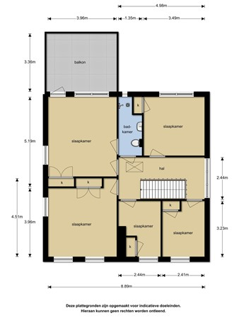 Plattegrond - Schipholtstraat 39, 7534 CR Enschede