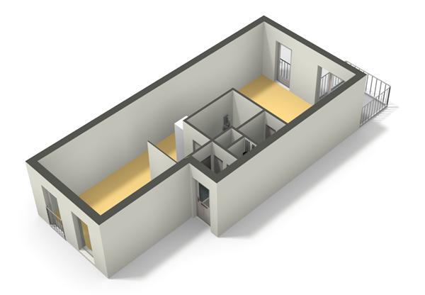 Floorplan - Scandinaviëkade 93, 1363 DJ Almere