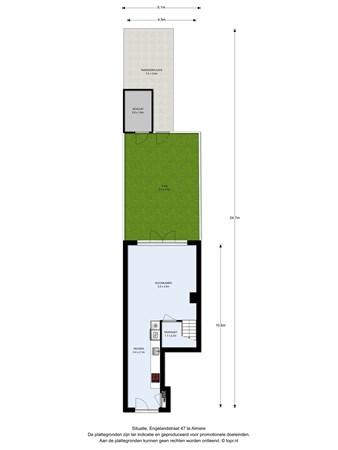 Floorplan - Engelandstraat 47, 1363 DE Almere