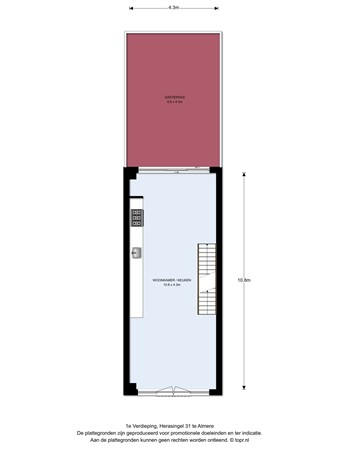 Floorplan - Herasingel 31, 1363 TH Almere