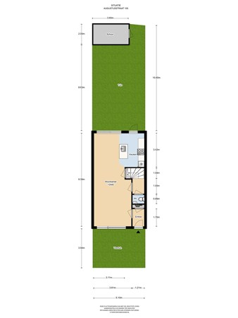 Floorplan - Augustusstraat 105, 1335 DS Almere