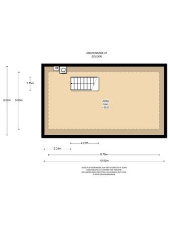 Floorplan - Amstenrade 21, 8219 AC Lelystad