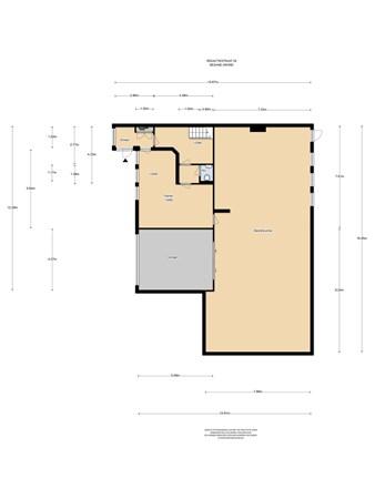 Floorplan - Redactiestraat 29, 1321 NL Almere