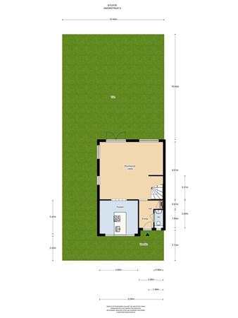 Floorplan - Anzarstraat 8, 1363 RK Almere