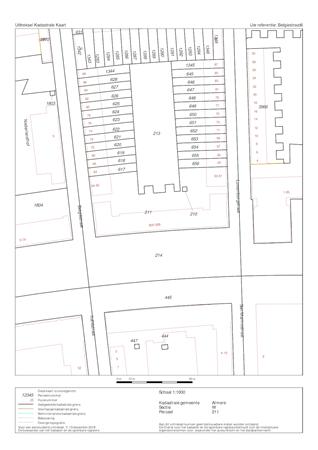 Floorplan - Belgiëstraat 6, 1363 BL Almere
