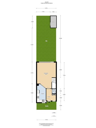 Floorplan - Funke Küpperplantsoen 8, 1336 BE Almere