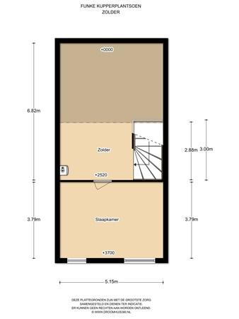 Floorplan - Funke Küpperplantsoen 8, 1336 BE Almere