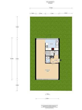 Floorplan - Polluxstraat 5, 1363 VB Almere