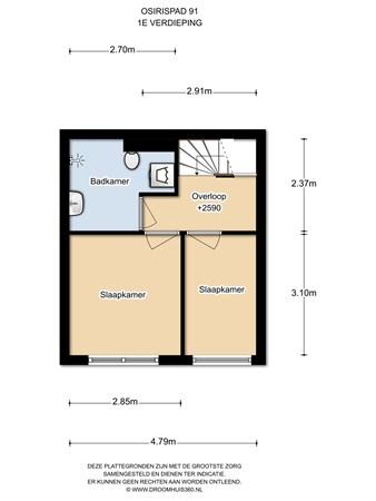 Floorplan - Osirispad 91, 1363 XK Almere
