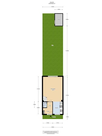 Floorplan - Lokistraat 27, 1363 WG Almere