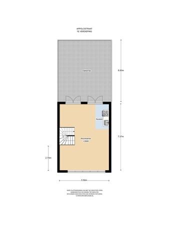 Floorplan - Apollostraat 36, 1363 TJ Almere