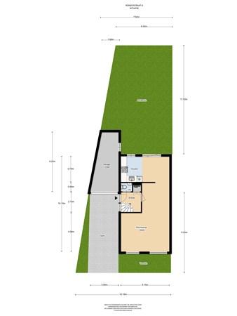 Floorplan - Rondostraat 9, 1312 SJ Almere