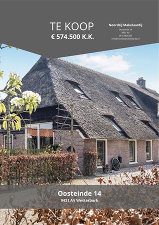 Brochure preview - Oosteinde 14, 9431 AV WESTERBORK (1)