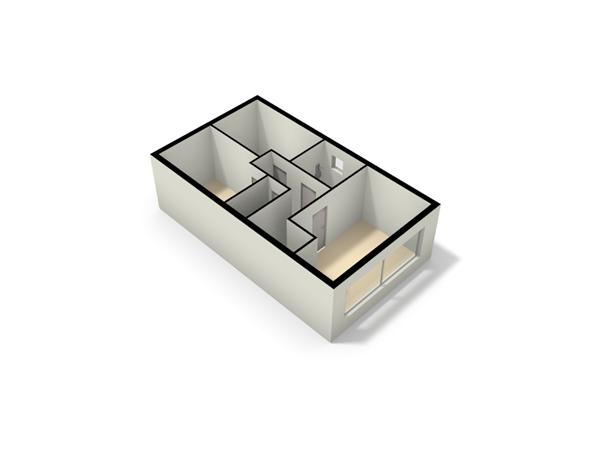 Floorplan - Parelmoervlinder 16, 7534 MA Enschede