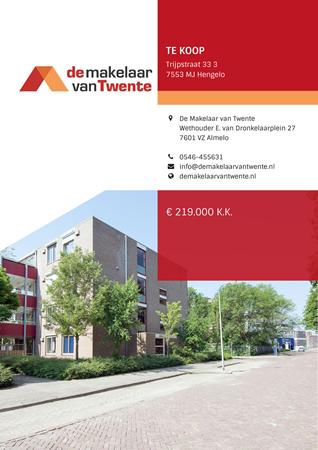 Brochure preview - Trijpstraat 33-3, 7553 MJ HENGELO (1)