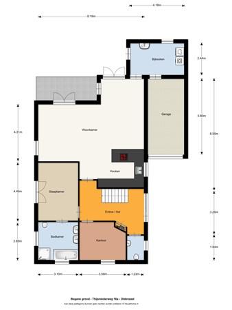 Floorplan - Thijsniederweg 16a, 7576 ZG Oldenzaal