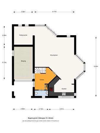 Floorplan - Aldengoor 14, 7608 NM Almelo