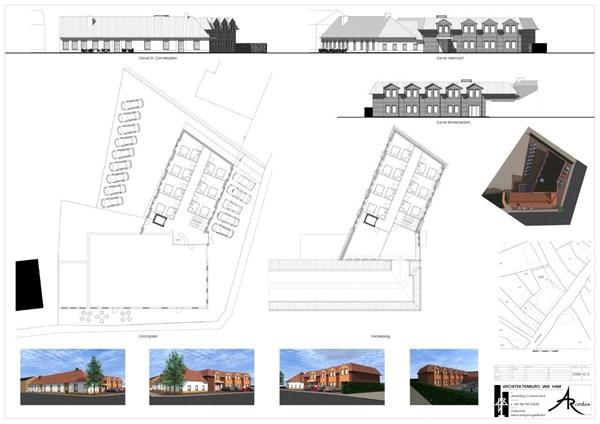 Floor plan - Sint Cornelisplein 2, 6028 RN Gastel
