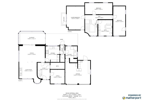 Floorplan - Grensstraat 15, 3941 Hechtel-Eksel