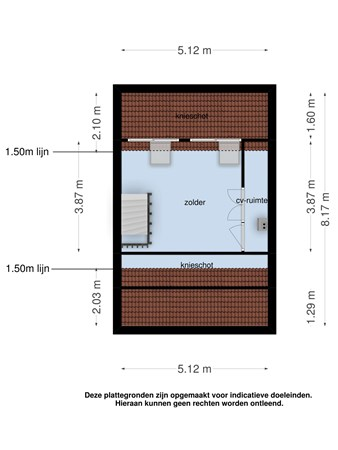 Floorplan - Pomperschans 12A, 5595 AV Leende