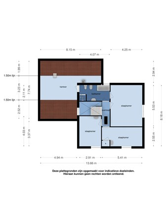 Floorplan - Geldropseweg 69, 5591 EB Heeze