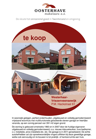 Brochure preview - PM HACKSTRAAT 61 WESTERHAAR.pdf
