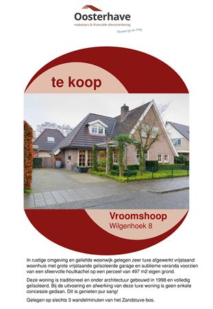 Brochure preview - VERKOOPBROCHURE WILGENHOEK 8 VROOMSHOOP.pdf