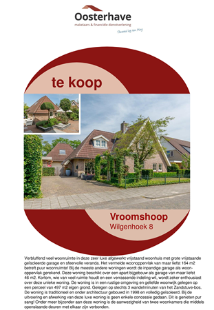 Brochure preview - VERKOOPBROCHURE WILGENHOEK 8 VROOMSHOOP  -  Compatibiliteitsmodus.pdf