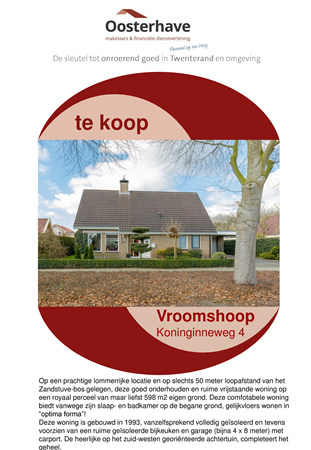 Brochure preview - VERKOOPBROCHURE Koninginneweg 4 Vroomshoop.pdf