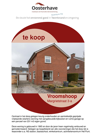 Brochure preview - VERKOOPBROCHURE Margrietstraat 3a Vroomshoop.pdf