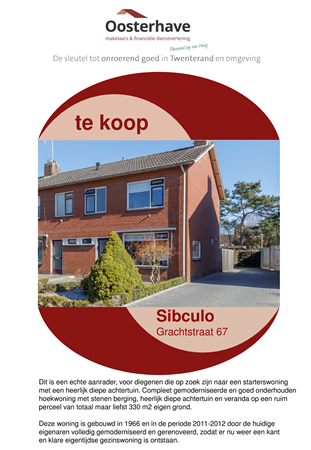 Brochure preview - VERKOOPBROCHURE GRACHTSTRAAT 67 SIBCULO VO-V18123.pdf