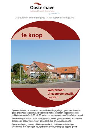 Brochure preview - BROCHURE LEIDIJK 3 WESTERHAAR.pdf