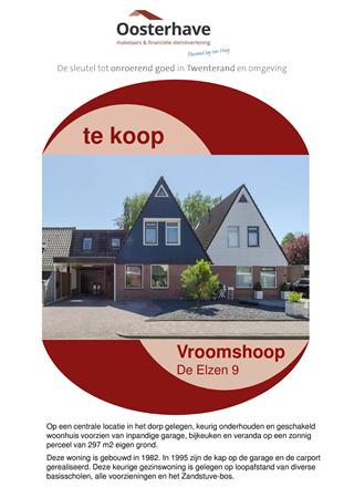 Brochure preview - BROCHURE DE ELZEN 9 VROOMSHOOP VO-V18138  -  Compatibiliteitsmodus.pdf