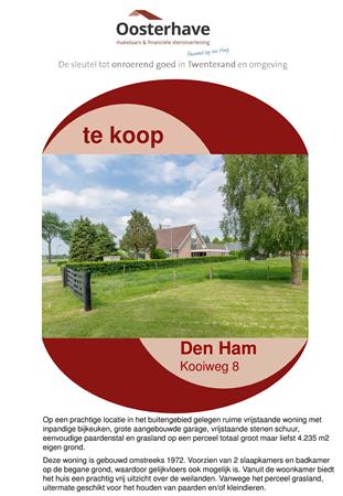 Brochure preview - VERKOOPBROCHURE Kooiweg 8 Den Ham.pdf
