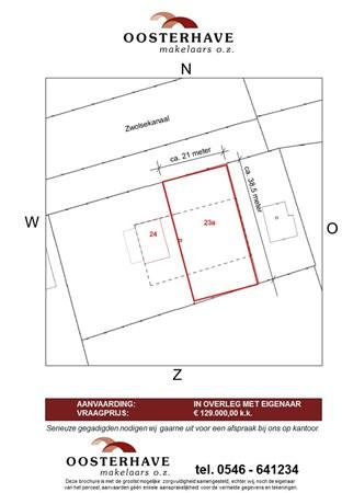 Floorplan - Zwolsekanaal 23a, 7681 EB Vroomshoop