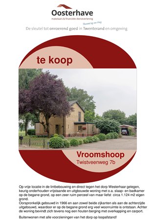 Brochure preview - VERKOOPBROCHURE TWISTVEENWEG 7B VROOMSHOOP.pdf