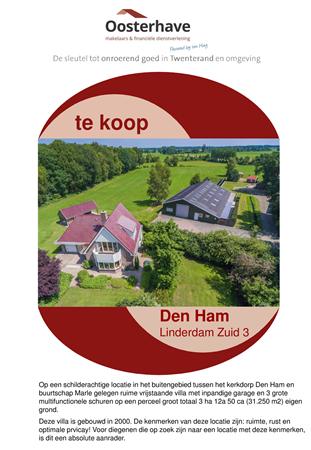 Brochure preview - VERKOOPBROCHURE Linderdam Zuid 3 Den Ham.pdf