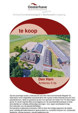 Brochure preview - VERKOOPBROCHURE ACHTERES 3-3a DEN HAM.pdf