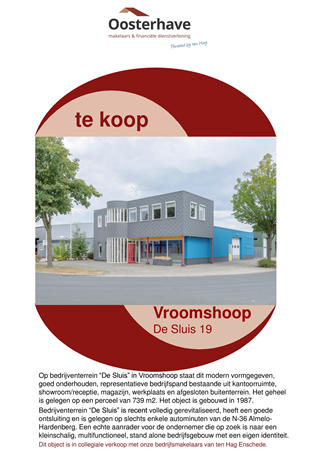Brochure preview - VERKOOPBROCHURE DE SLUIS 19 VROOMSHOOP VO-V18160.pdf