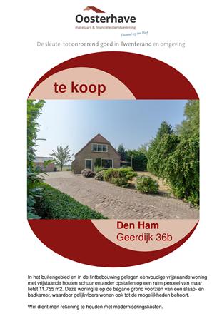 Brochure preview - BROCHURE GEERDIJK 36A DEN HAM.pdf