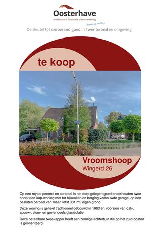 Brochure preview - VERKOOPBROCHURE Wingerd 26.pdf